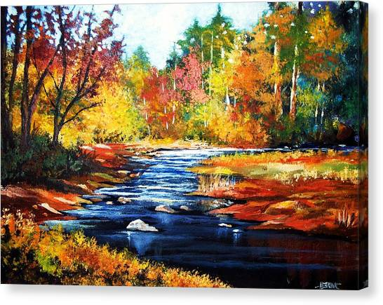 October Bliss Canvas Print