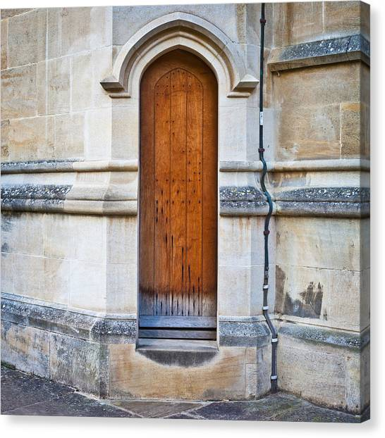 Door Canvas Print - Old Door by Tom Gowanlock