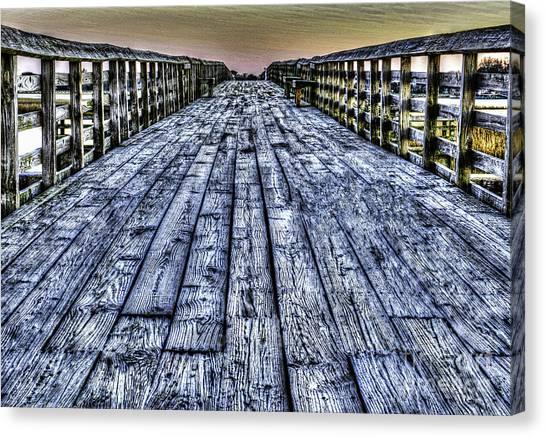 Old Pitt St Bridge Canvas Print