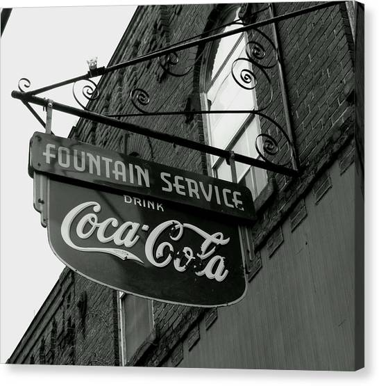 Old Sign Canvas Print