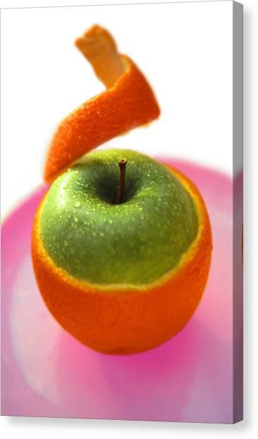 Oranple Canvas Print