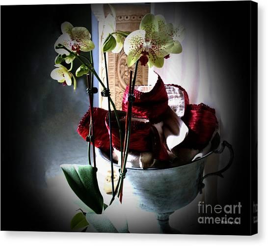 Orchids Canvas Print by Jinx Farmer