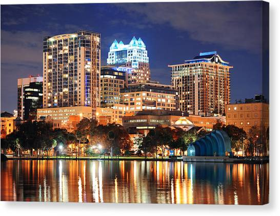 Orlando Downtown Architecture Canvas Print