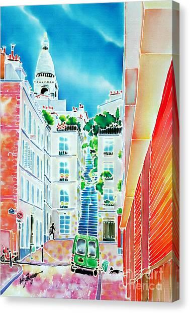 Passage Cottin Canvas Print