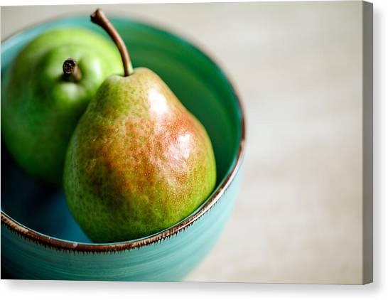 Pears Canvas Print - Pears by Nailia Schwarz