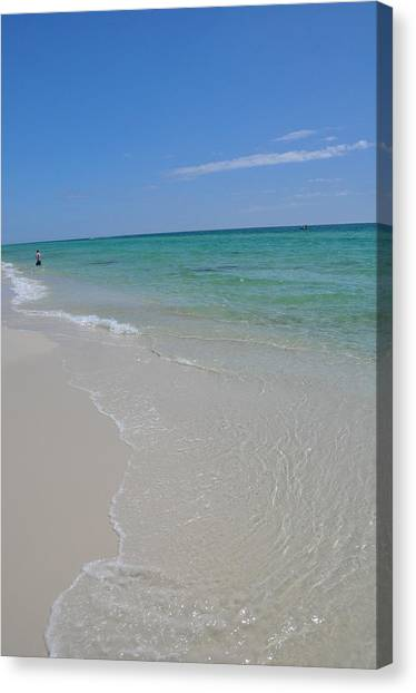 Pensacola Beach Canvas Print