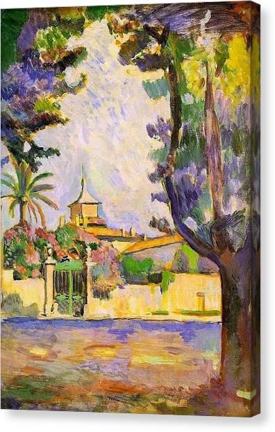 Place Des Lices St Tropez Canvas Print