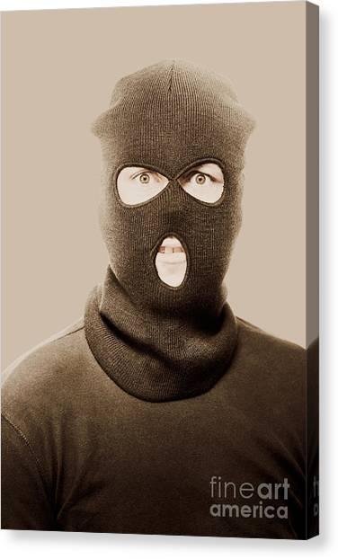 Terrorist Canvas Print - Portrait Of A Vintage Terrorist by Jorgo Photography - Wall Art Gallery