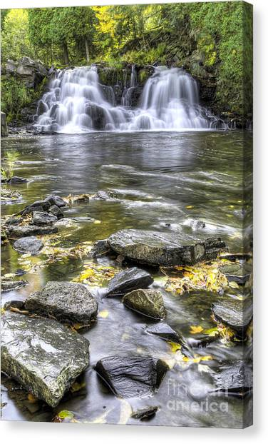 Powerhouse Falls Canvas Print by Twenty Two North Photography