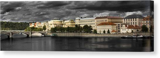 Fuselier Canvas Print - Prague by Cecil Fuselier