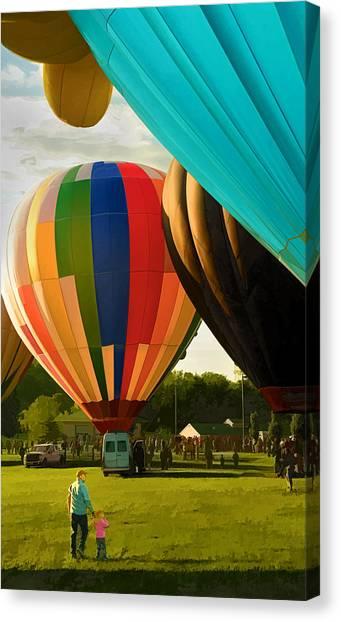 Preakness Balloon Festival Canvas Print