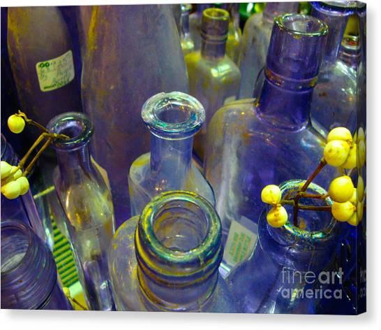 Purple Glaze Canvas Print
