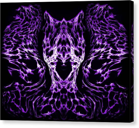 Purple Series 4 Canvas Print