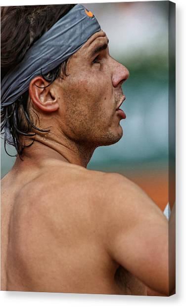 Rafael Nadal Canvas Print - Rafael Nadal  by Srdjan Petrovic
