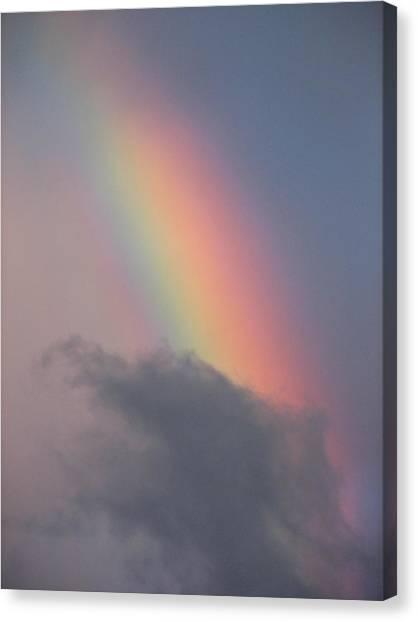 Rainbow Smaug Canvas Print