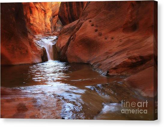 Redcliffs Canvas Print