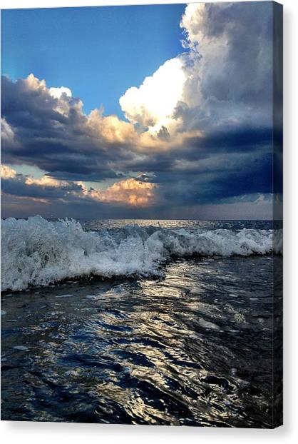 Reflecting Canvas Print by Eugene Bergeron