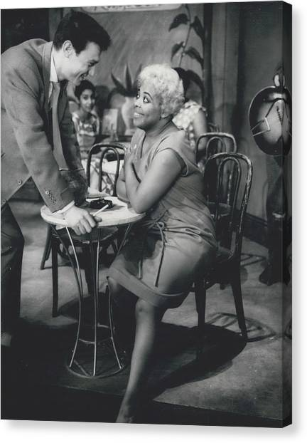 Rehearsing New Negro Musical Comedy Canvas Print by Retro Images Archive