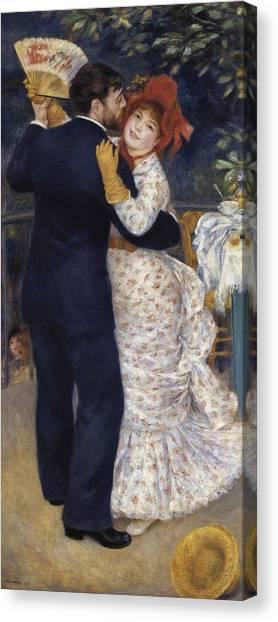 Renoir, Pierre-auguste 1841-1919. Dance Canvas Print by Everett