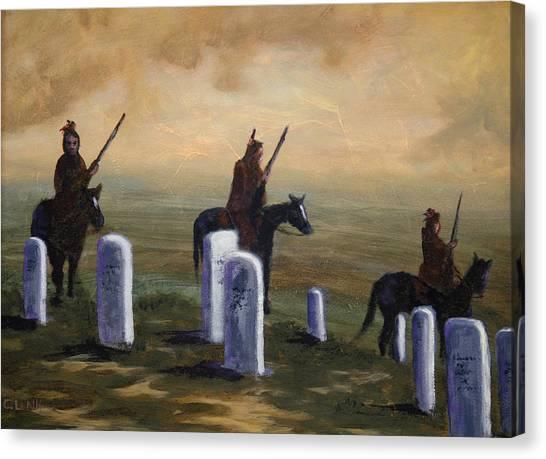 Return To Little Bighorn  Canvas Print