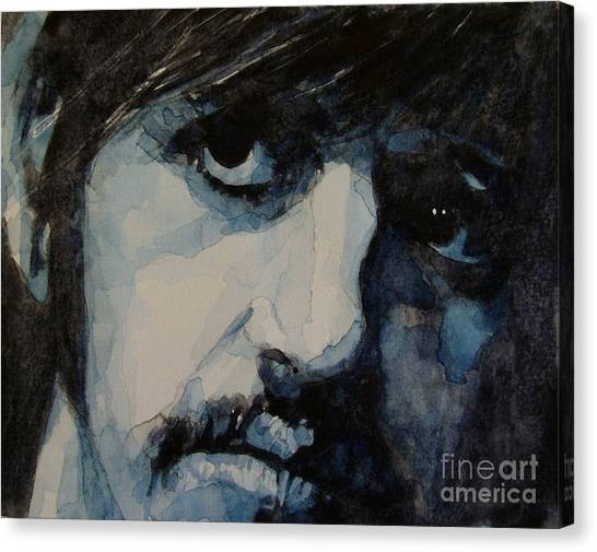 The Beatles Canvas Print - Ringo by Paul Lovering