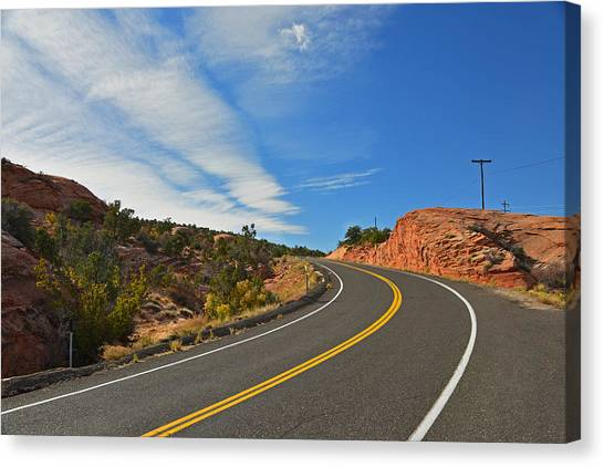 Route 12 - Utah Canvas Print
