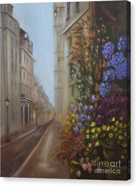 Rue De Fleur Canvas Print
