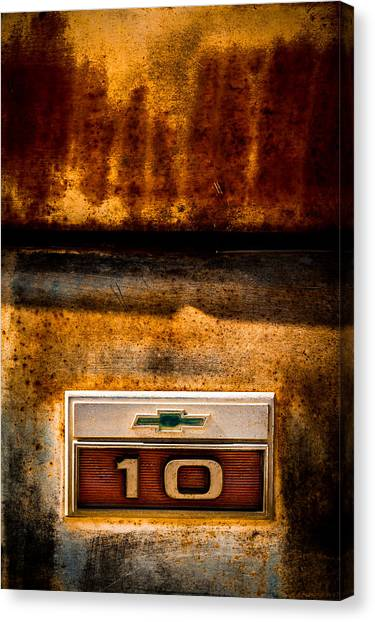 Rusted C10 Canvas Print