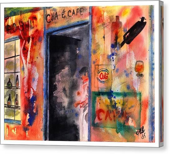 Saturday Afternoon Canvas Print by Joyce Ann Burton-Sousa