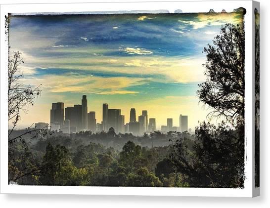 Scene @ Los Angeles Canvas Print