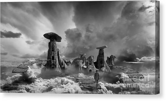 Desolation Canvas Print - Sky City Casino by Keith Kapple
