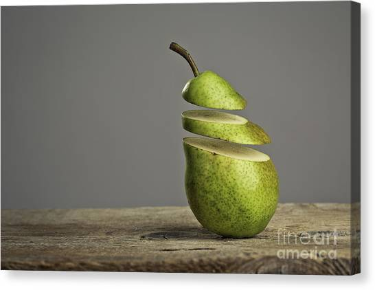 Fruits Canvas Print - Sliced by Nailia Schwarz