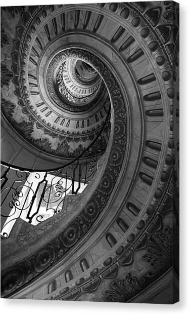 Spiral Staircase Canvas Print