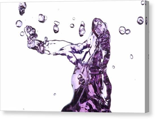 Splash 3 Canvas Print