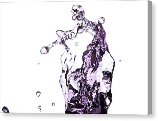 Splash 4 Canvas Print