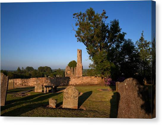 Early Christian Art Canvas Print - St Marys Augustinian Abbey, Ferns by Panoramic Images
