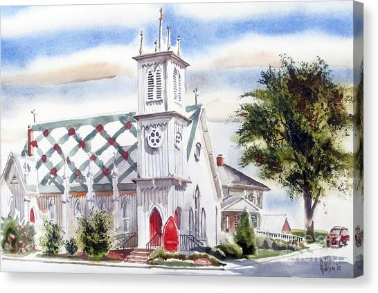 St Pauls Episcopal Church  Canvas Print