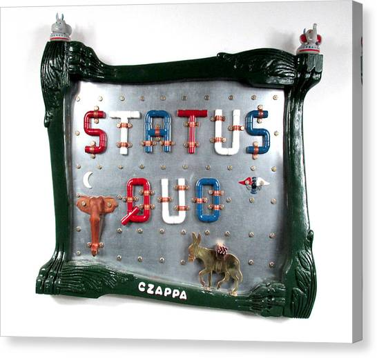 Status Quo  #83 Canvas Print by Bill Czappa