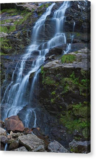 Steall Falls Canvas Print