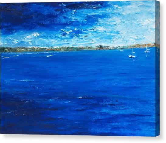 Storm A Comin Canvas Print