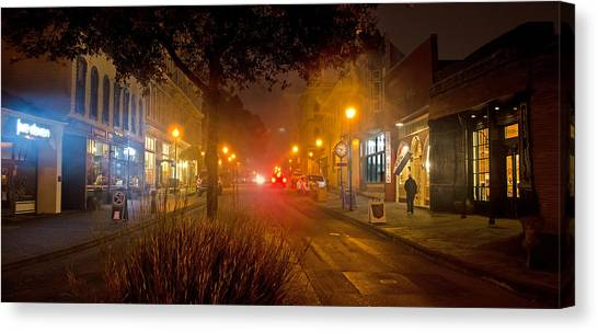 2 Street East Canvas Print