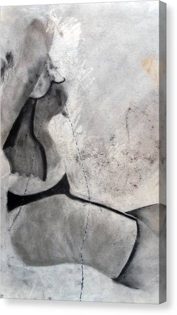Study Canvas Print by Corina Bishop