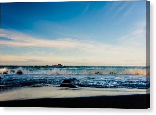 Sunlight On Beach Canvas Print