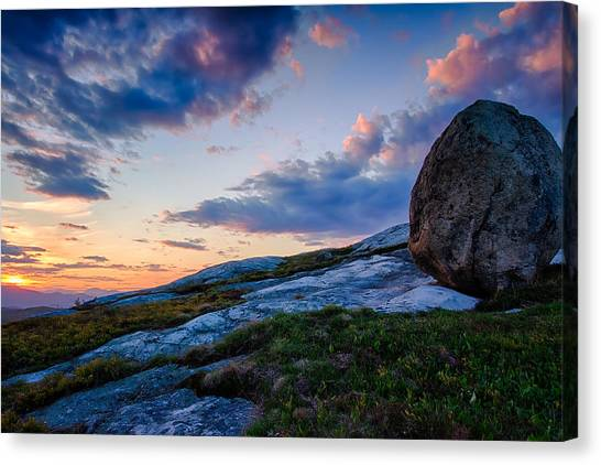 Sunsets Witness Canvas Print