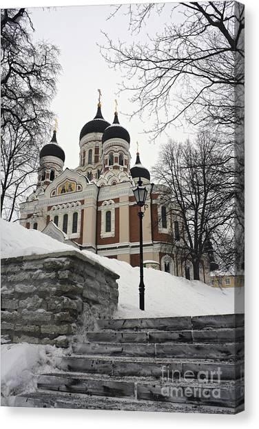 Tallinn Estonia Canvas Print