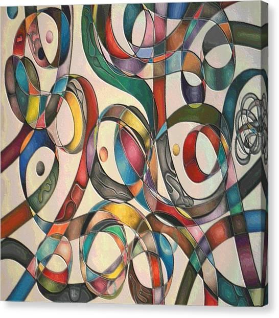 #2 Tangled Series Canvas Print