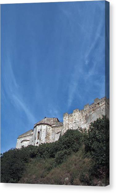 Tarquinia The Walls And The Apse Canvas Print
