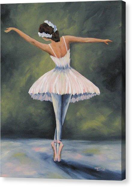 The Ballerina Iv Canvas Print
