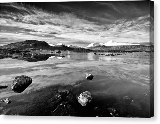 The Black Mount Canvas Print