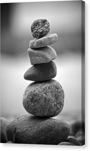 Balancing Canvas Print - The Delicate by Matthew Blum